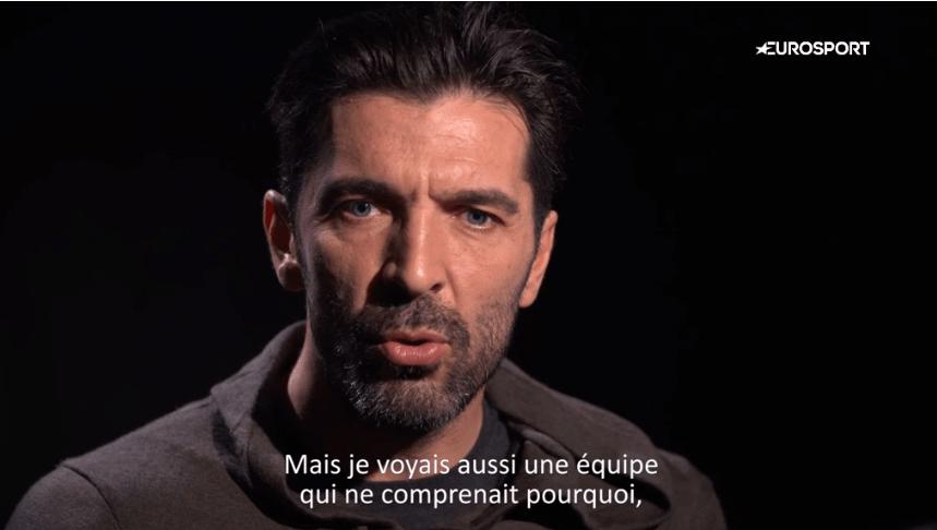 """Buffon """"Après 6 mois au PSG, je suis encore plus heureux et convaincu du choix que j'ai fait."""""""