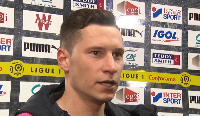 """Amiens/PSG - Julian Draxler """"On a bien joué, on est content""""."""