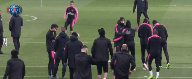 Amiens/PSG - Suivez le début de l'entraînement des Parisiens ce vendredi à 16h