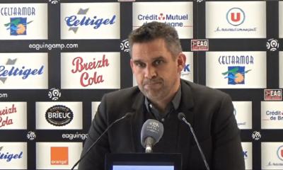 """PSG/Guingamp - Gourvennec """"On va faire ce match-là pour qu'il se passe quelque chose d'anormal."""""""