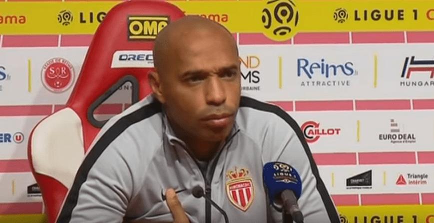 Ligue 1 - Thierry Henry est déjà reparti, puisqu'il est suspendu par l'AS Monaco