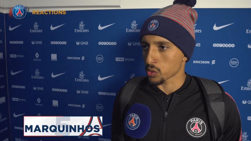 """PSG/Guingamp - Marquinhos """"il faut analyser notre match et en tirer les leçons"""""""