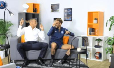 Neymar et Mbappé répondent aux questions des fans avec beaucoup d'humour