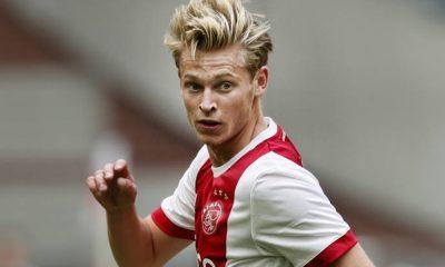 Mercato - De Jong et l'Ajax veulent que son avenir soit réglé dans les prochains jours, selon Mundo Deportivo