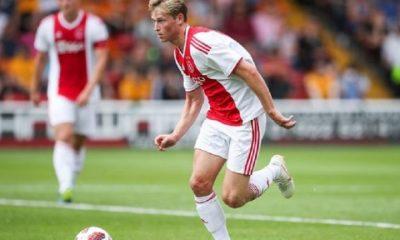 Mercato - De Jong rappelle qu'il reste à l'Ajax cet hiver et pour le reste, on verra fin de saison