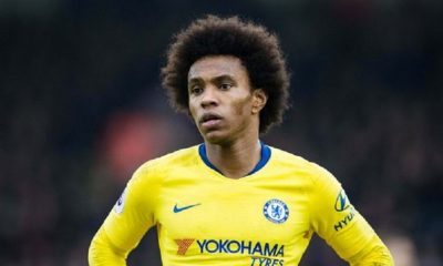 Mercato - Le clan Willian est à Paris en attente d'un accord entre le PSG et Chelsea, affirme UOL Esporte