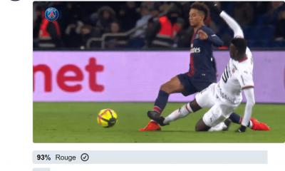 PSG/Rennes - Paris fait part de son incompréhension face au jaune de Niang en proposant un sondage