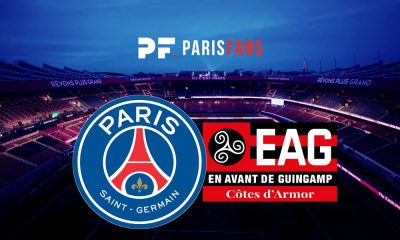 PSG/Guingamp - Le groupe guingampais :