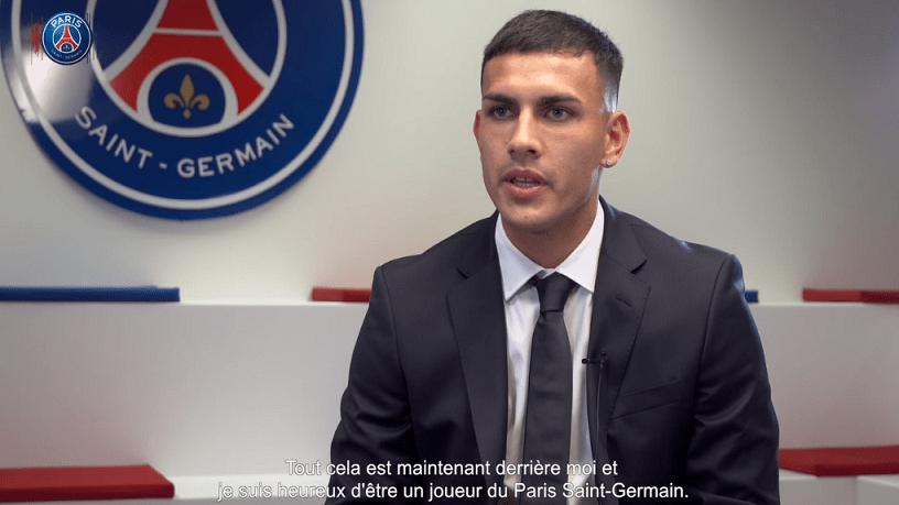 """Leandro Paredes """"Di Maria qui m'a déjà présenté le club et la ville...J'ai hâte"""""""