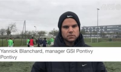 """Pontivy/PSG - Blanchard """"Les joueurs peuvent être fiers d'eux."""""""