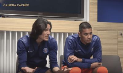 Les joueurs du PSG piégés par une caméra cachée avec de nouvelles règles, un 3e épisode avec un Cavani passionné