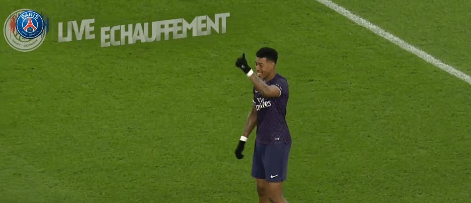 Les images du PSG ce dimanche : victoire contre Rennes avec la visite de Trapp !