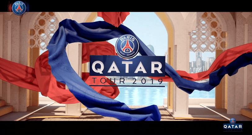 Les images du PSG ce dimanche : voyage au Qatar plein de sourires