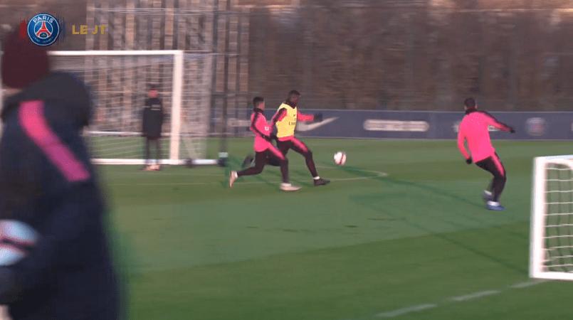 Les images du PSG ce lundi : entraînement avec le retour de Kimpembe
