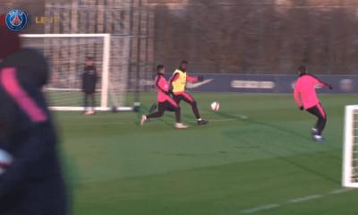 PSG/Strasbourg - L'entraînement des Parisiens remplacé par une séance en salle à cause de la neige