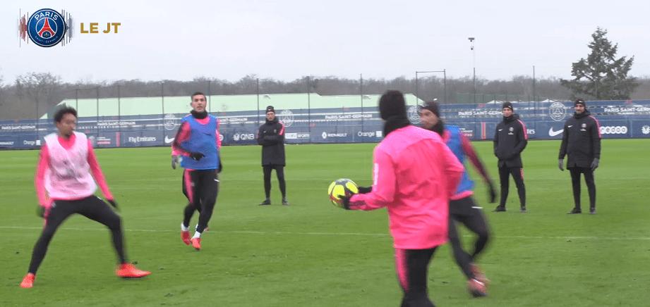 Les images du PSG ce jeudi : entraînement avec les gardiens et Sala, principalement