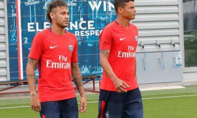 Neymar + Thiago Silva