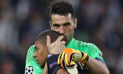 """Buffon: """"C'est normal que Mbappé, qui a 20 ans, me voie comme une figure paternelle"""""""