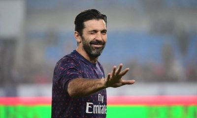 Gianluigi Buffon évoque son avenir au PSG et le match contre Manchester United