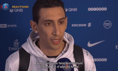 PSG/Dijon - Di Maria évoque ses deux buts et la volonté de faire marquer Choupo-Moting