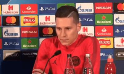 """Manchester United/PSG - Draxler en conf : """"C'est un match de football. On ne le gagne pas en parlant."""""""