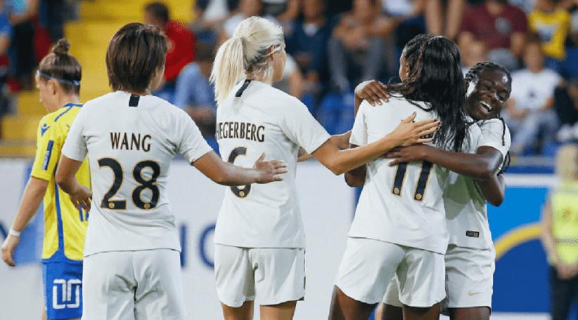 Féminines - Le PSG remporte un beau succès contre Montpellier et est provisoirement 1er