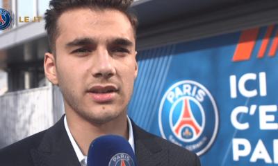 Metehan Guclu exprime toute sa satisfaction après la signature de son premier contrat professionnel avec le PSG