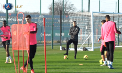 Thomas Meunier a repris l'entraînement collectif avec le PSG