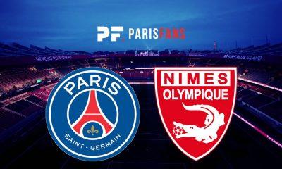 PSG/Nîmes - Les équipes officielles :