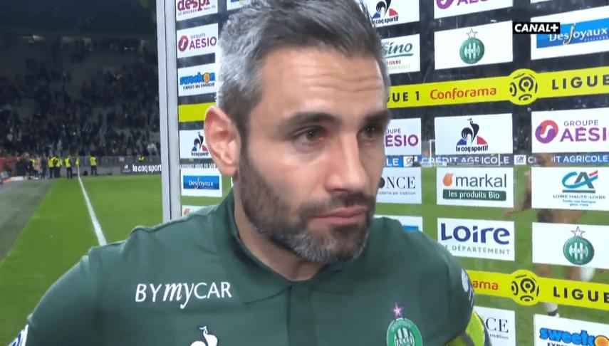 """Saint-Etienne/PSG - Perrin """"On n'a pas été récompensé de nos efforts. C'est dommage."""""""