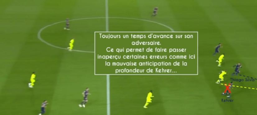 La Gazette tactique analyse les grandes qualités de Thiago Silva dans l'anticipation