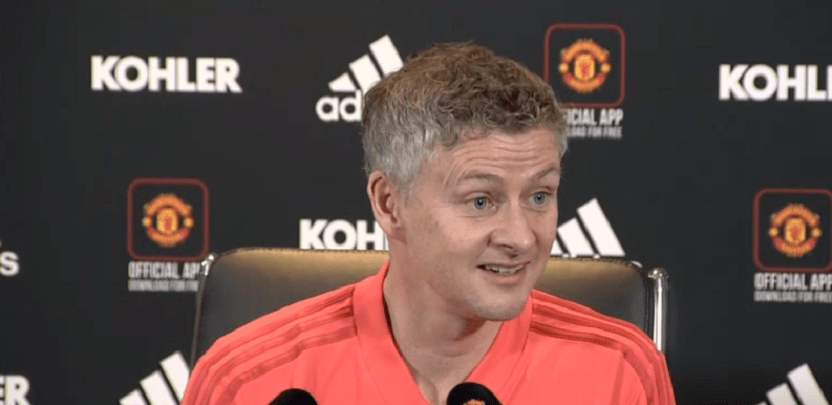 """Manchester United/PSG - Solskjaer en conf : """"On ne pourrait pas être dans un meilleur état d'esprit"""""""