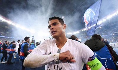 Thiago Silva veut prolonger son contrat au PSG, affirme L'Equipe