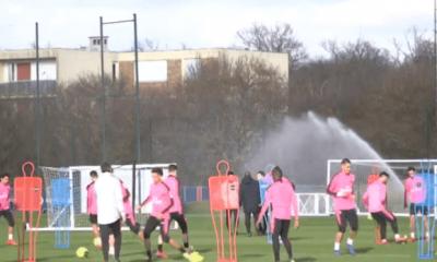 PSG/Montpellier - Bernat absent de l'entraînement ce mardi
