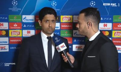 """PSG/Manchester United - Al-Khelaïfi, """"très déçu"""", critique l'arbitre et annonce """"on va écouter ce que veut Tuchel"""""""