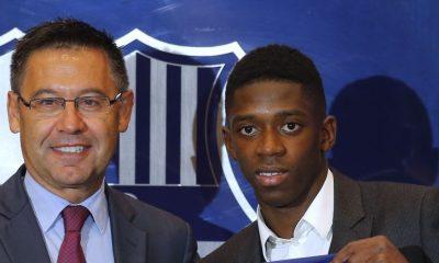 """Bartomeu: """"Pour moi, Ousmane Dembélé est meilleur que Neymar"""""""
