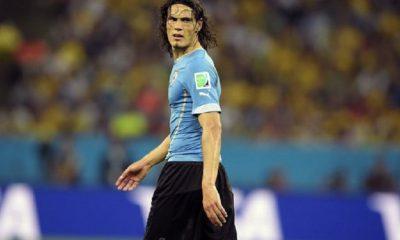 Cavani parmi les 27 joueurs pré-sélectionnés avec l'Uruguay pour la China Cup