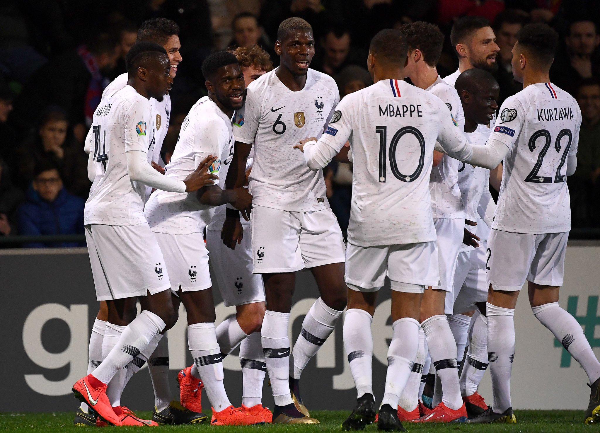 Moldavie/France - Le match et les notes des Parisiens après la large victoire 4-1