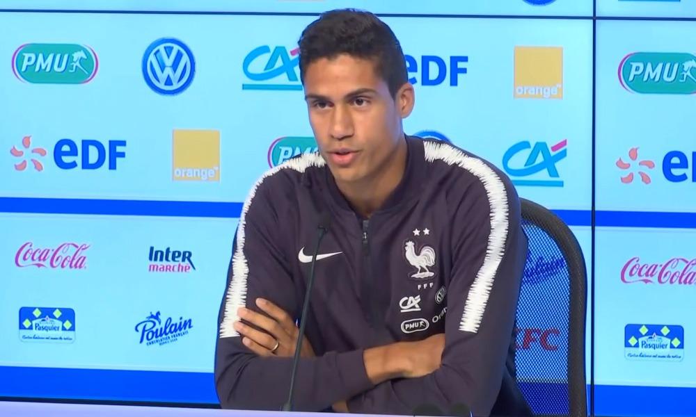 """Varane """"Mbappé ? Il a quelque chose de particulier... C'est la première fois que je rencontre un joueur aussi doué"""""""