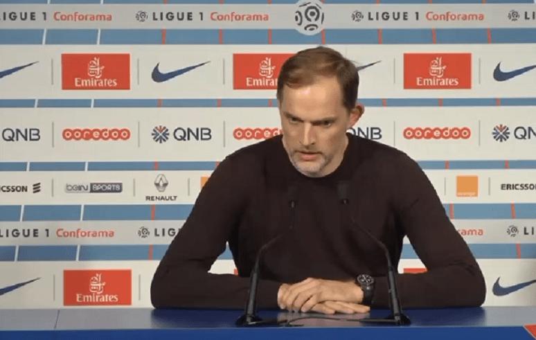 PSG/OM - Tuchel «Ce n'est pas à nous de dire pardon&L'équipe prouve qu'elle peut réagir en championne»