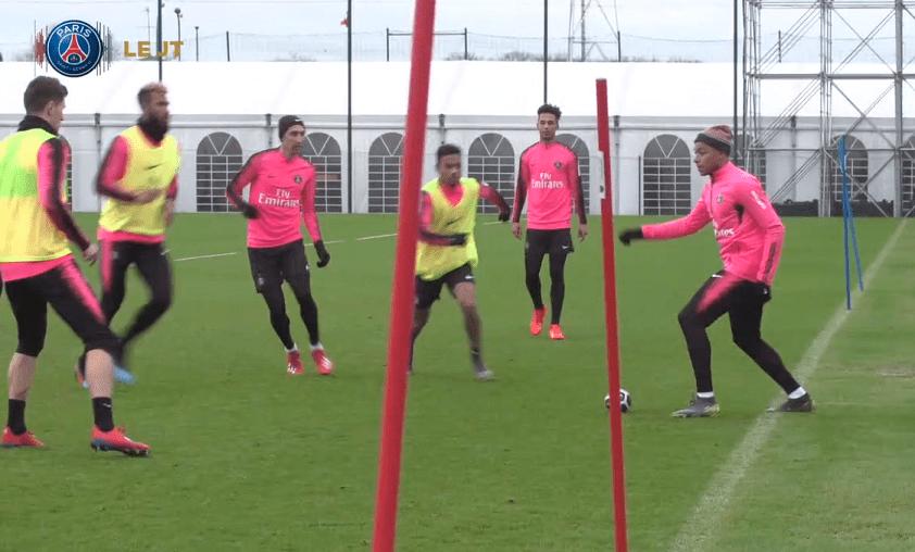 Les images du PSG ce vendredi : respect, Thiago Silva obtient la nationalité française et entraînement