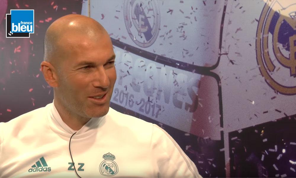 """Zidane """"Mbappé ? Je ne parlerai pas de lui par respect pour le PSG, pour le Real Madrid et surtout pour mes joueurs"""""""