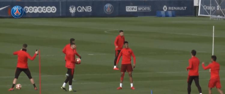 PSG/Manchester United - Cavani avec le groupe ce mardi, Neymar et N'Soki seuls absents