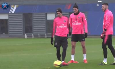 Les images du PSG ce jeudi : sélections en Equipe de France et entraînement