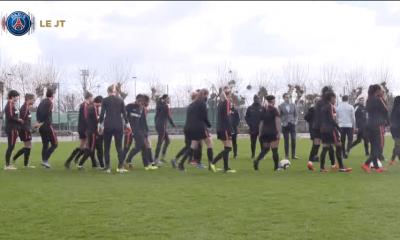Les images du PSG ce lundi : sélections et Féminines
