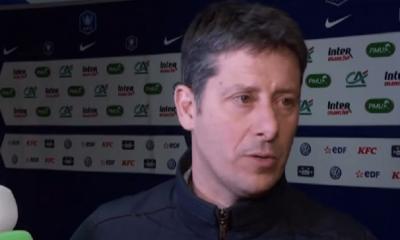 """Caen/PSG - Mercadal """"C'est une déception...On a perdu beaucoup de jus en défendant"""""""