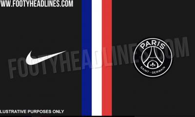 La saison prochaine le PSG aura une 4e tenue, noire avec une bande façon drapeau français au milieu, selon Footy Headlines