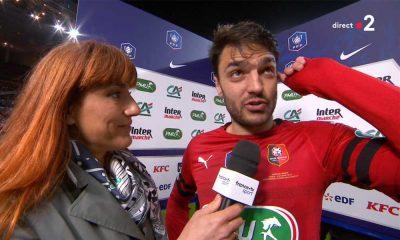 """Rennes/PSG - Grenier : """"On a eu du mental et on a été la chercher. C'est notre récompense"""""""
