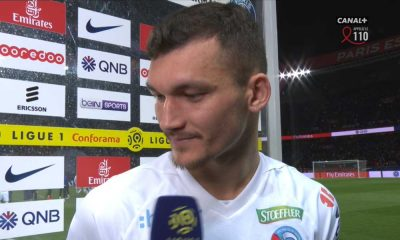 """PSG/Strasbourg - Ajorque: """"On sait qu'on a moins de qualité que le PSG, mais on joue avec le cœur"""""""