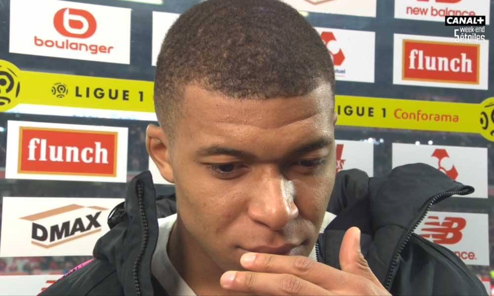 """Lille/PSG - Mbappé """"Il ne faut pas chercher trop loin...On a joué comme des débutants."""""""